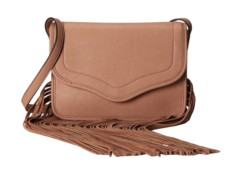 BCBGeneration - The Lana Shoulder Bag (Blush) Shoulder Handbags