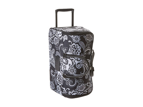 Vera Bradley Luggage - 22 Rolling Duffel (Midnight Paisley) Carry on Luggage