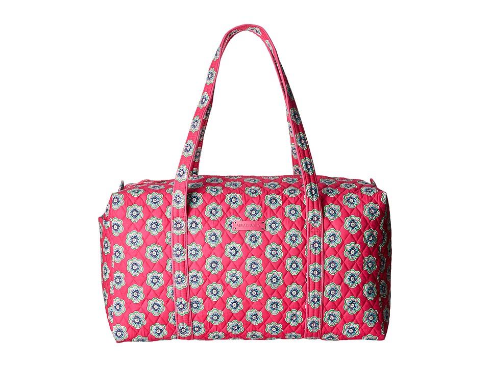 Vera Bradley - Large Duffel (Pink Swirls Flowers) Duffel Bags