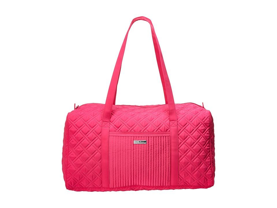 Vera Bradley Luggage - Large Duffel (Fuchsia) Duffel Bags