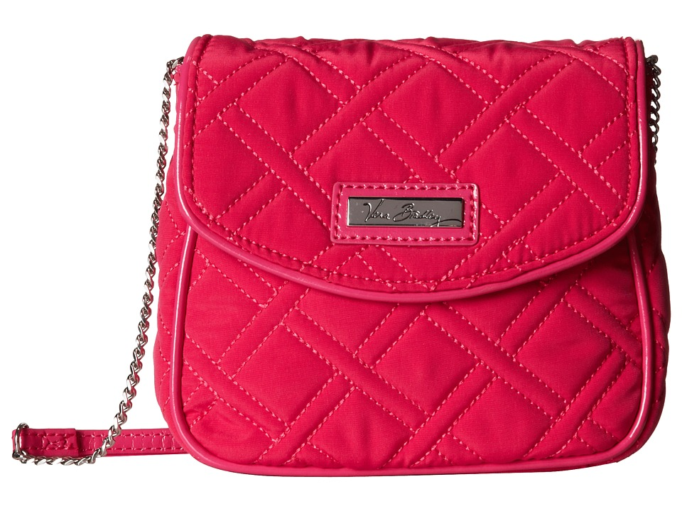Vera Bradley - Chain Strap Crossbody (Fuchsia) Cross Body Handbags