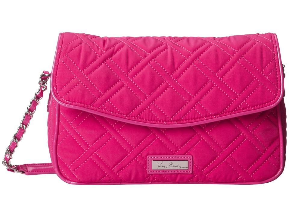 Vera Bradley - Chain Shoulder Bag (Fuchsia) Shoulder Handbags