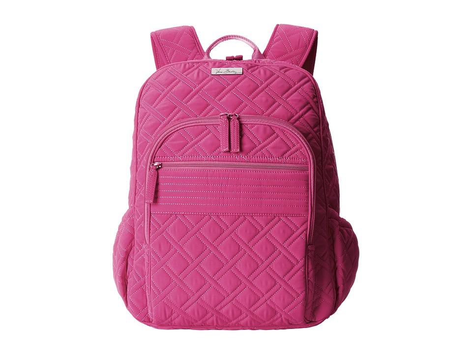 Vera Bradley - Campus Backpack (Fuchsia) Backpack Bags