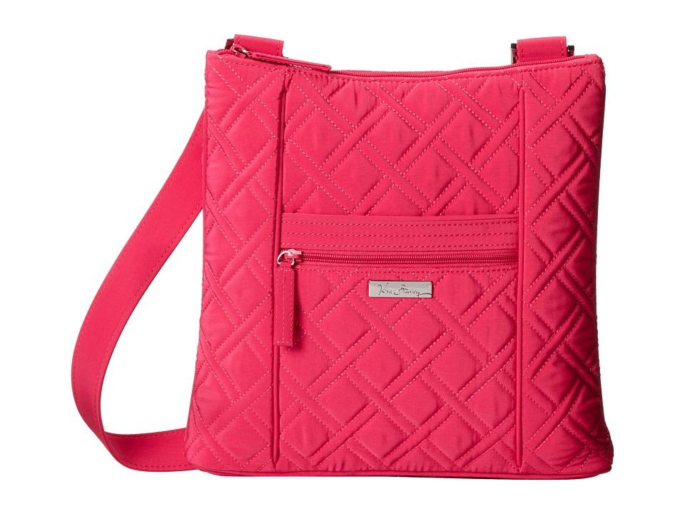 Vera Bradley - Hipster (Fuchsia) Cross Body Handbags