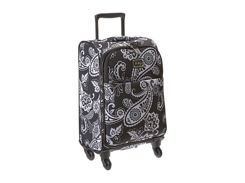 Vera Bradley Luggage - 22 Spinner (Midnight Paisley) Carry on Luggage