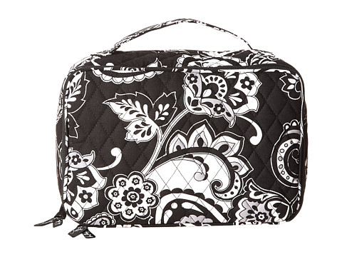 Vera Bradley Luggage - Large Blush Brush Makeup Case (Midnight Paisley) Cosmetic Case