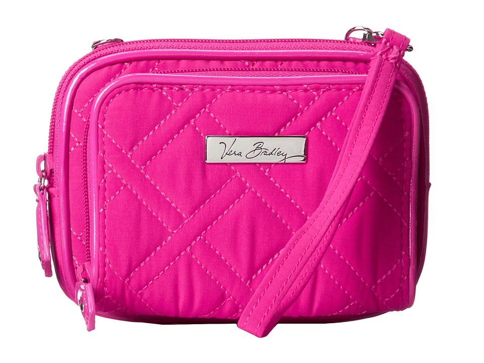Vera Bradley - On The Square Wristlet (Fuchsia) Wristlet Handbags