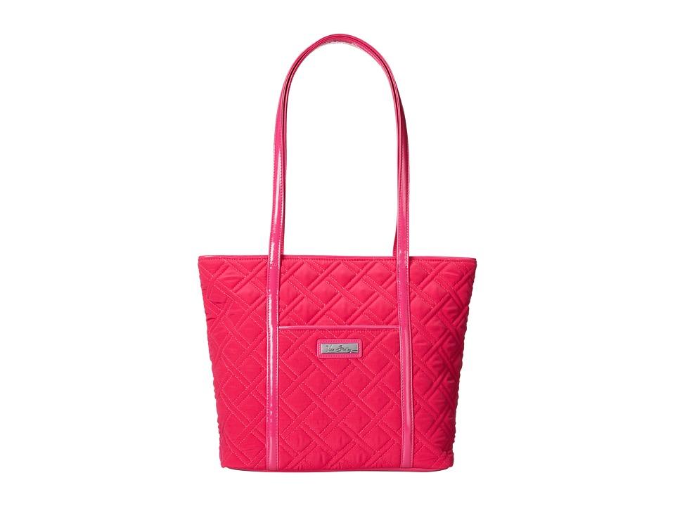 Vera Bradley - Small Trimmed Vera (Fuchsia) Tote Handbags