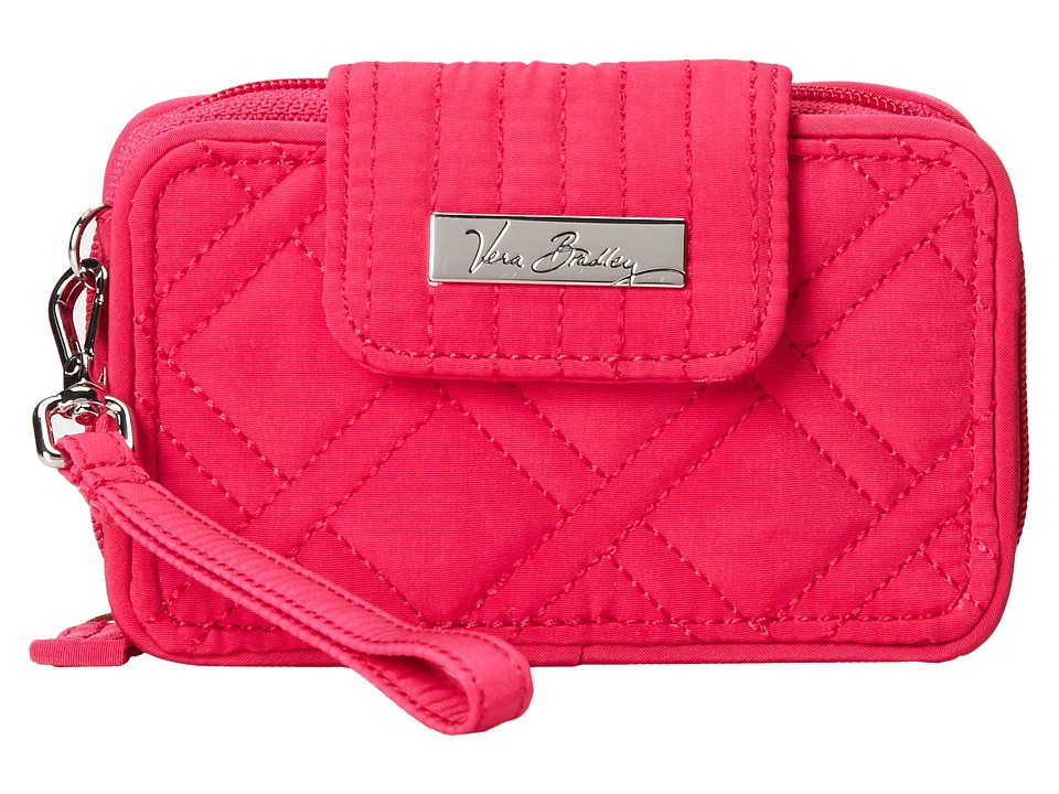 Vera Bradley - Smartphone Wristlet 2.0 (Fuchsia) Wristlet Handbags