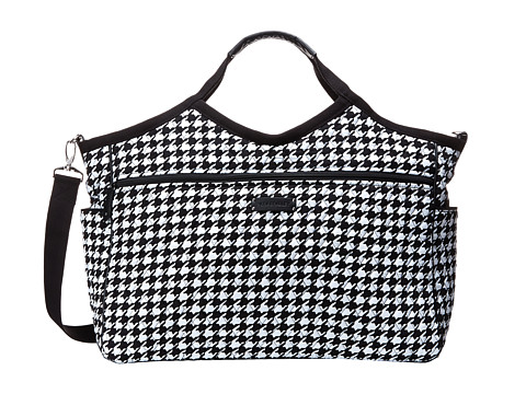 Vera Bradley Luggage - Carryall Travel Bag (Midnight Houndstooth) Luggage