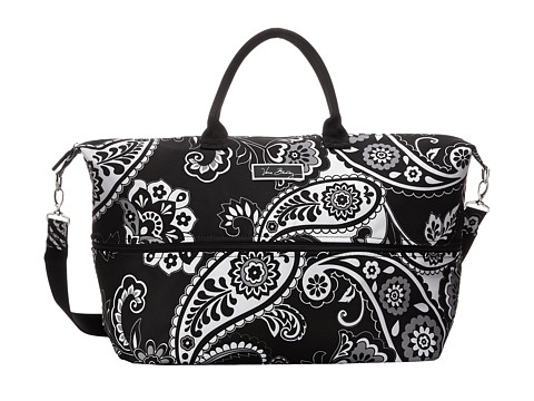 Vera Bradley Luggage - Lighten Up Expandable Travel Bag (Midnight Paisley) Weekender/Overnight Luggage