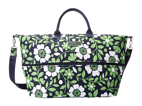 Vera Bradley Luggage - Lighten Up Expandable Travel Bag (Lucky You) Weekender/Overnight Luggage