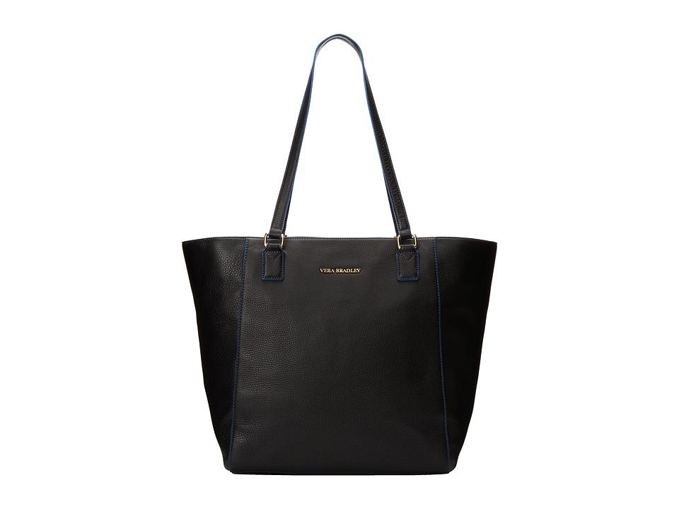 Vera Bradley - Ella Tote (Black) Tote Handbags