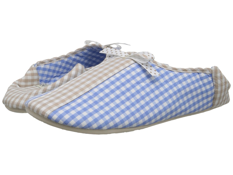 Bedroom Athletics - Maria (Baby Blue/Natural) Women's Slippers