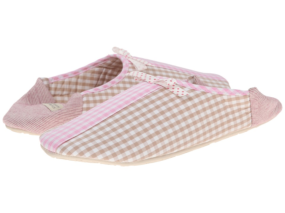 Bedroom Athletics - Maria (Natural/Soft Pink) Women's Slippers