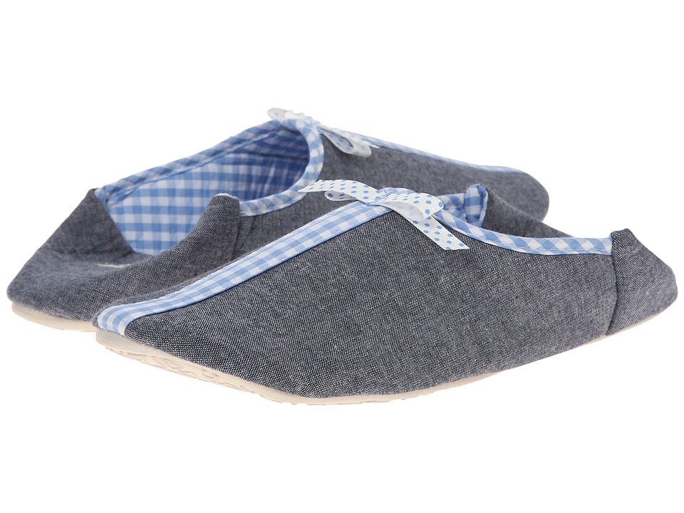 Bedroom Athletics - Martina (Dark Chambray/Baby Blue) Women's Slippers