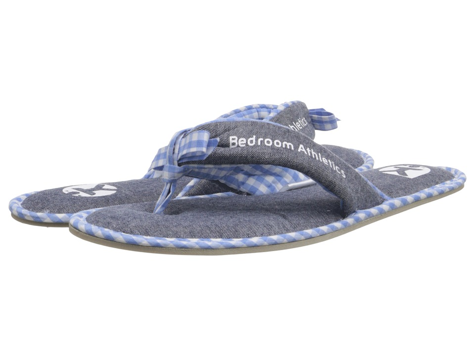 Bedroom Athletics - Anna (Dark Chambray/Baby Blue) Women's Slippers