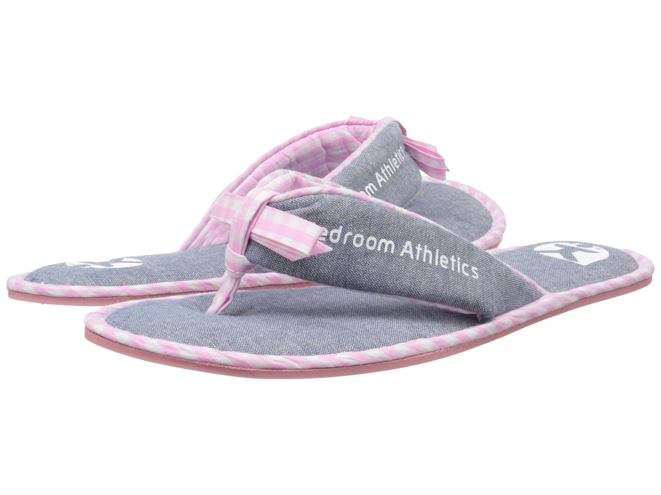 Bedroom Athletics - Anna (Washed Chambray/Soft Pink) Women's Slippers