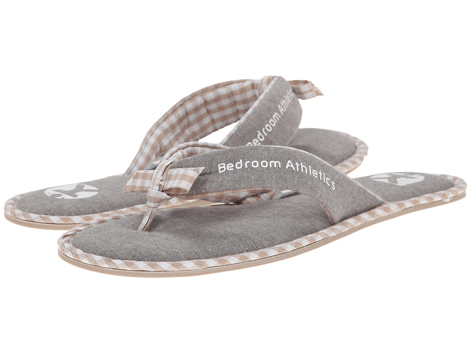 Bedroom Athletics - Anna (Bleached Chambray/Natural) Women's Slippers