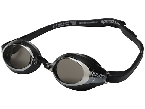 Speedo - Speed Socket Mirrored (Silver) Water Goggles