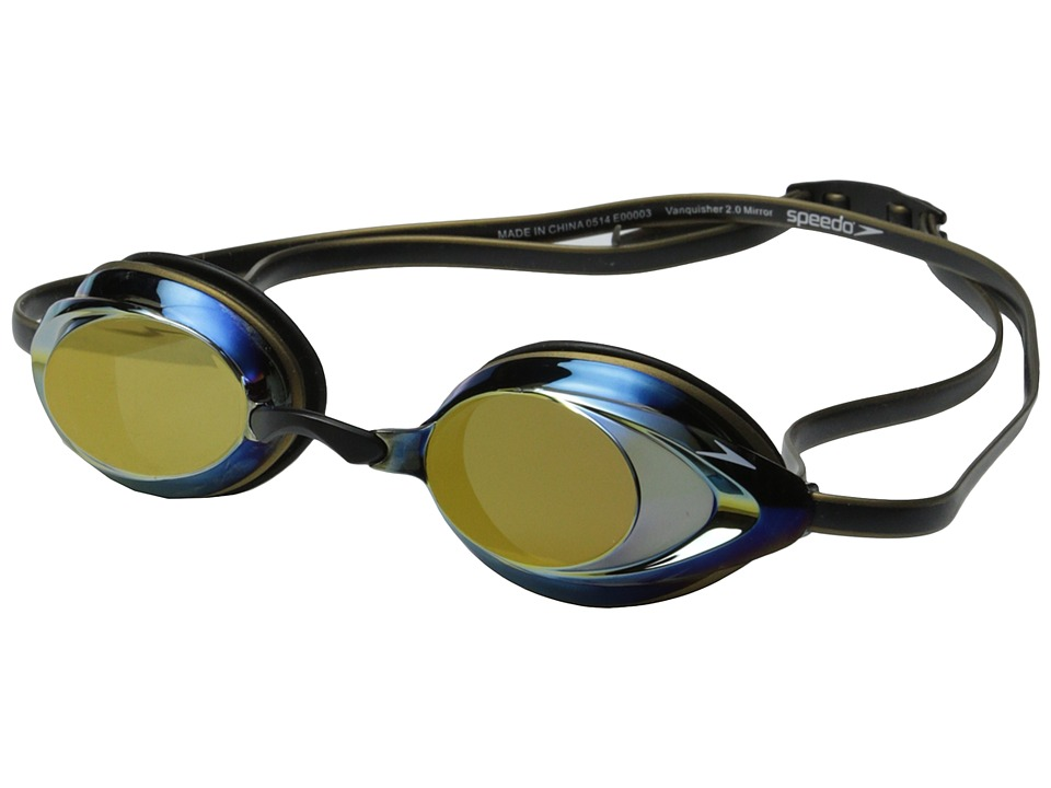 Speedo - Vanquisher 2.0 Mirrored (Deep Gold) Water Goggles