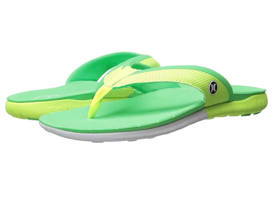 Hurley - Phantom Free Sandal (Flash Lime A) Men's Sandals
