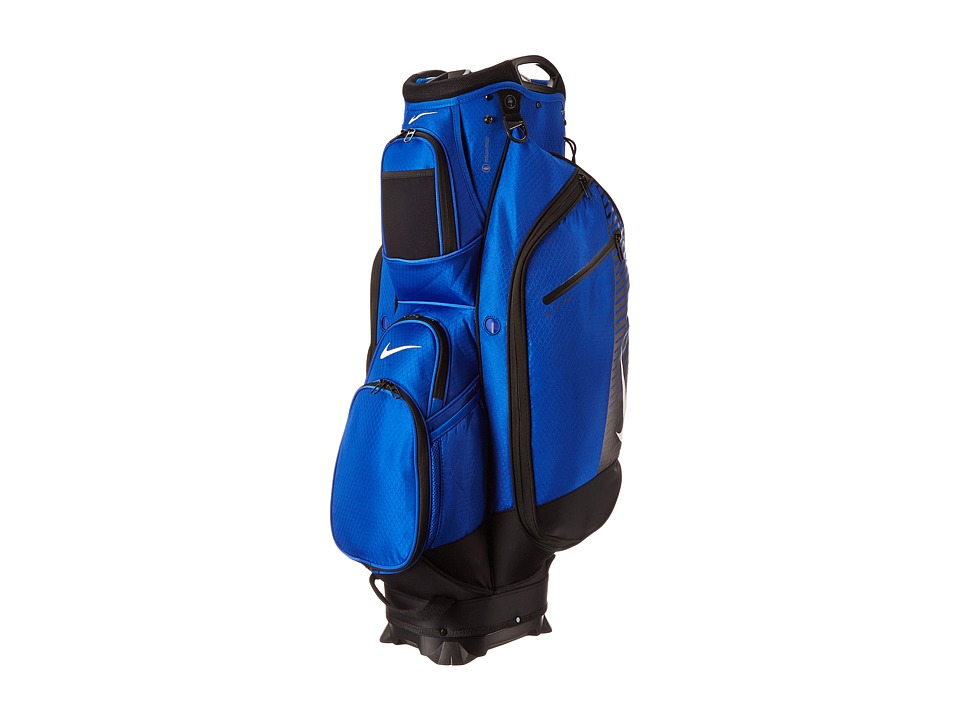 Nike Golf - M9 Cart III Cart Bag (Game Royal/Silver/Black) Duffel Bags