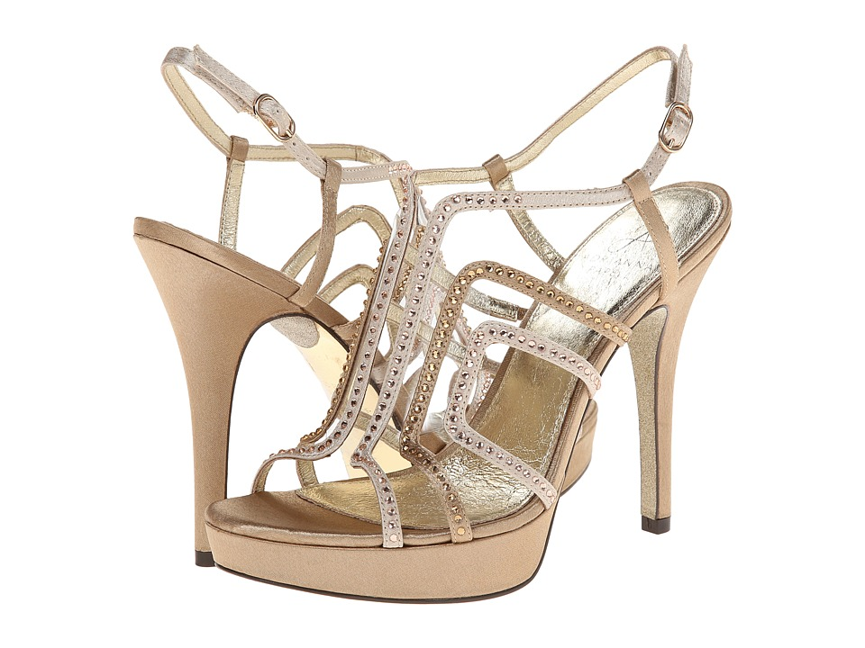 Adrianna Papell - Marlow (Taupe/Natural Satin) High Heels