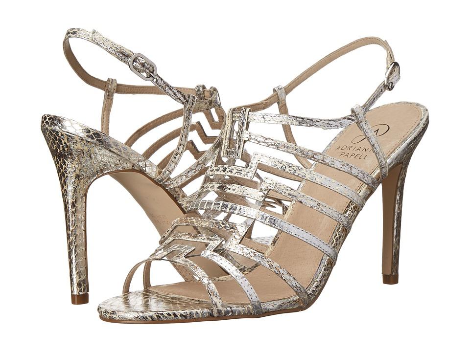 Adrianna Papell Emanuelle (Silver Tibet Snake) High Heels