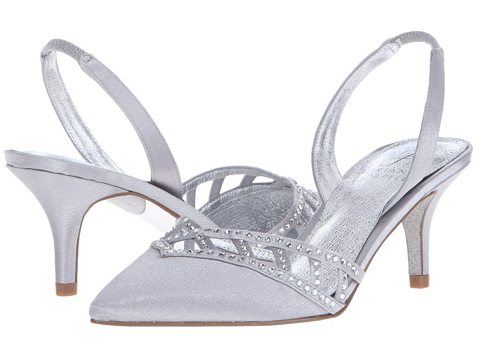 Adrianna Papell Haven (Silver Sheena Satin) High Heels