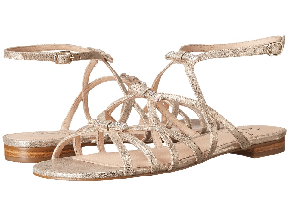 Adrianna Papell - Lane (Gold Mosaic Lame) Women's Dress Sandals