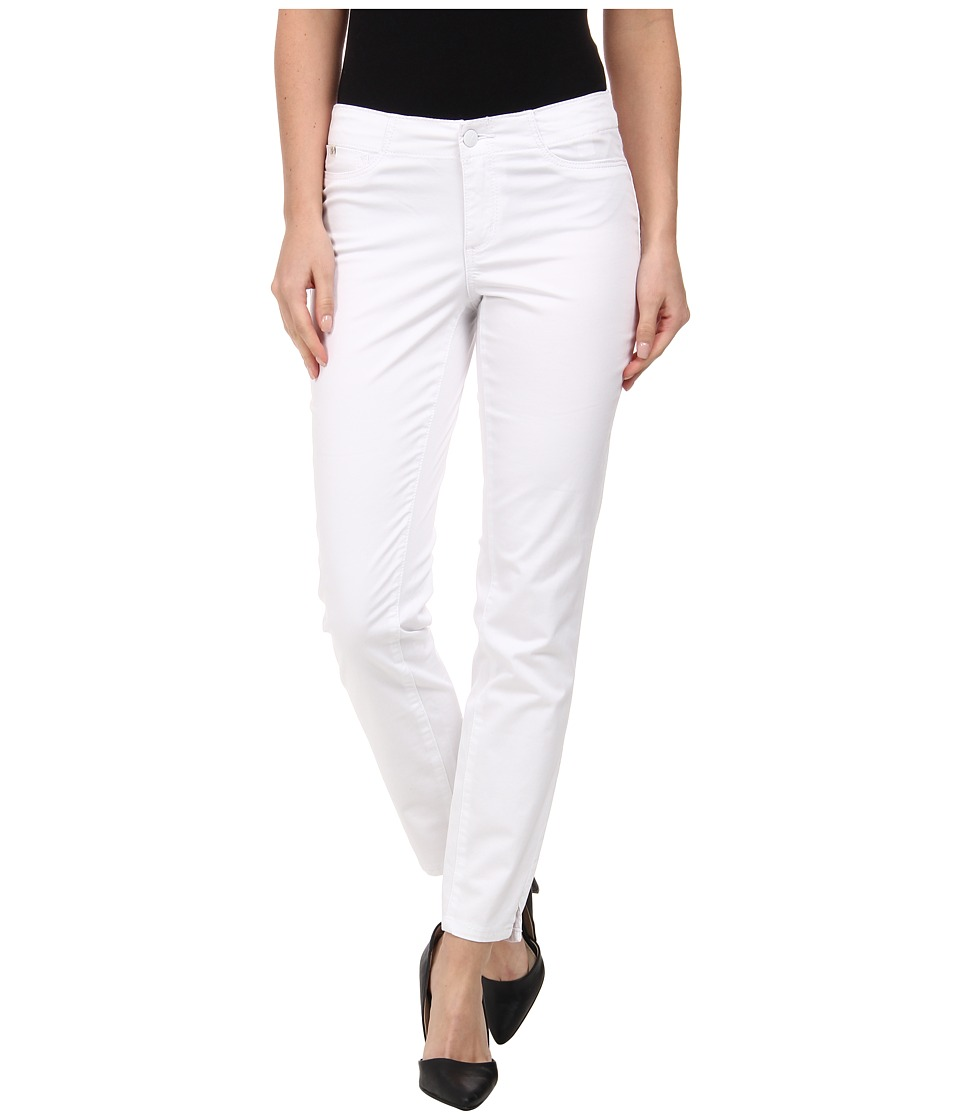 Christopher Blue - Kristin E-Waist Ankle in White (White) Women's Jeans