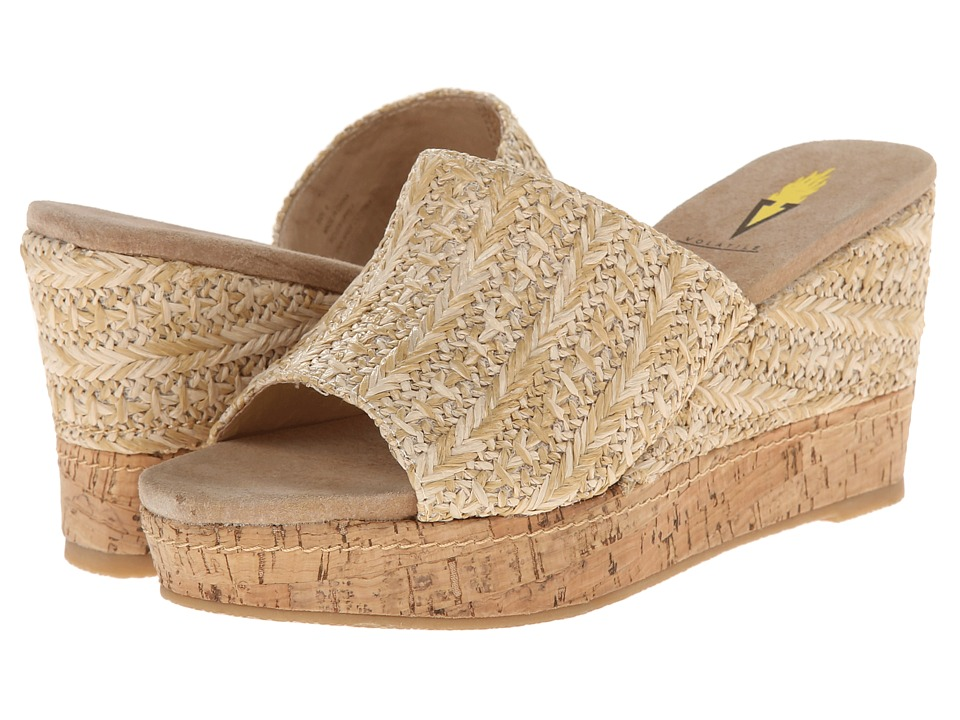 VOLATILE - Beachtime (Natural) Women's Wedge Shoes