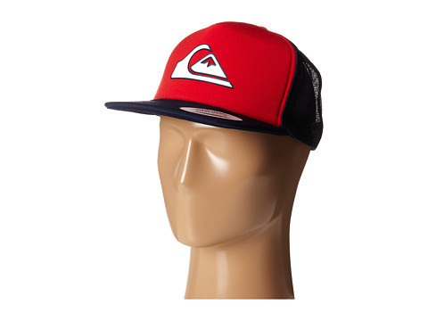 Quiksilver - Snapper Trucker Hat (Quik Red) Caps