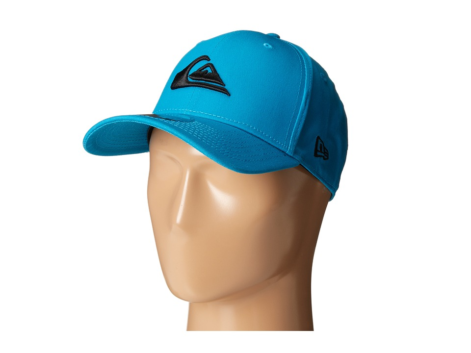 Quiksilver - Mountain and Wave Stretch Fit Hat (Hawaiian Ocean) Caps