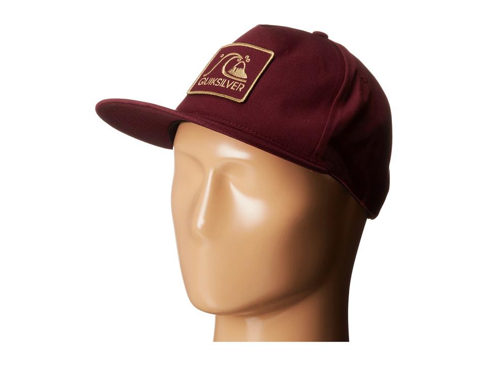 Quiksilver - Graf Trucker Hat (Sassafras) Caps