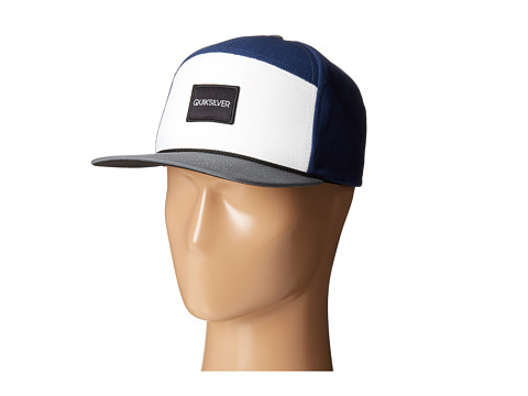 Quiksilver - Soaked Trucker Hat (Navy Blazer) Caps