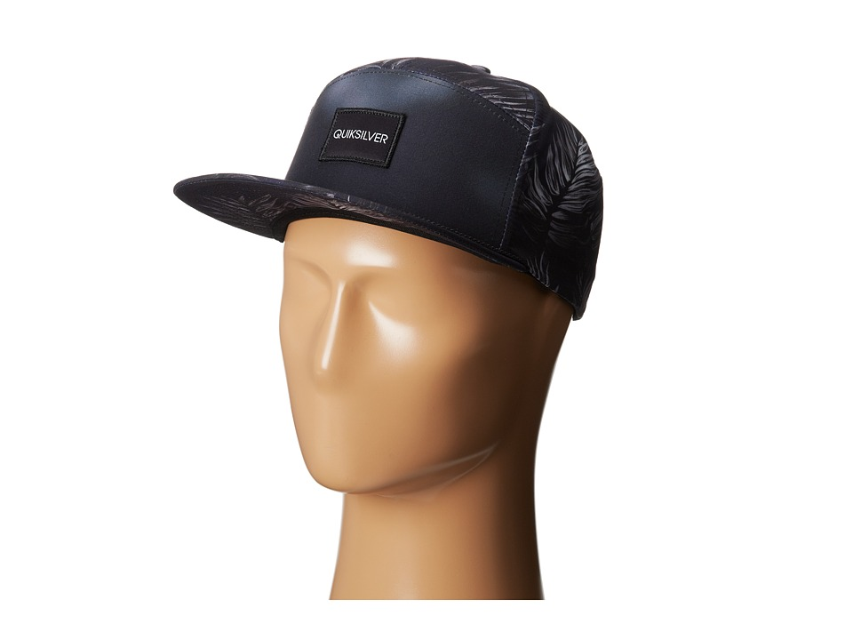 Quiksilver - Soaked Trucker Hat (Black) Caps