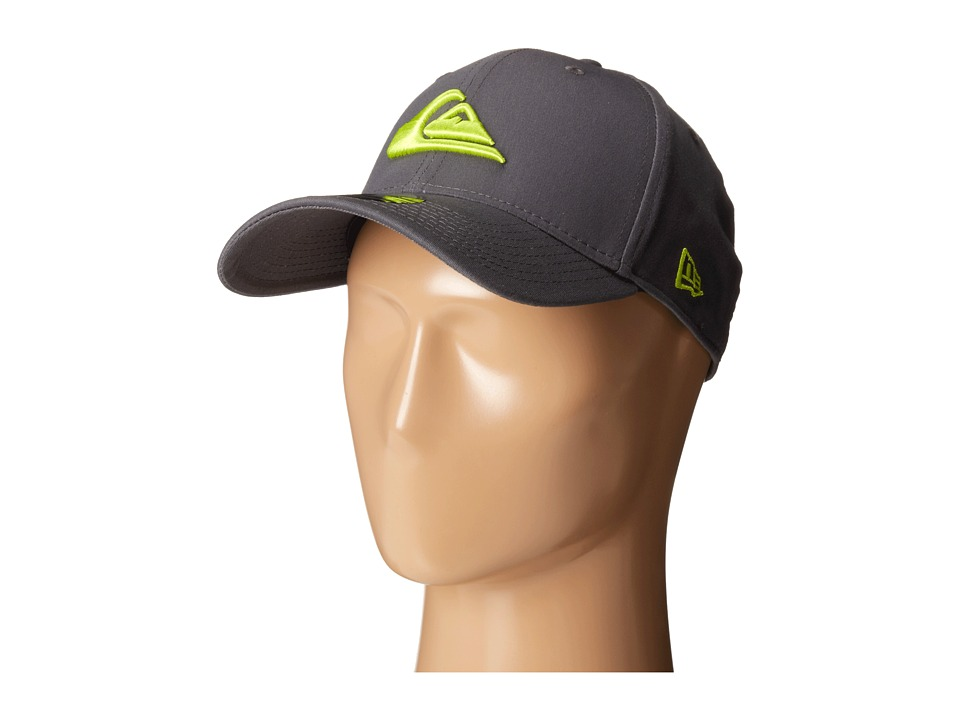 Quiksilver - Mountain and Wave Stretch Fit Hat (Tarmac) Caps