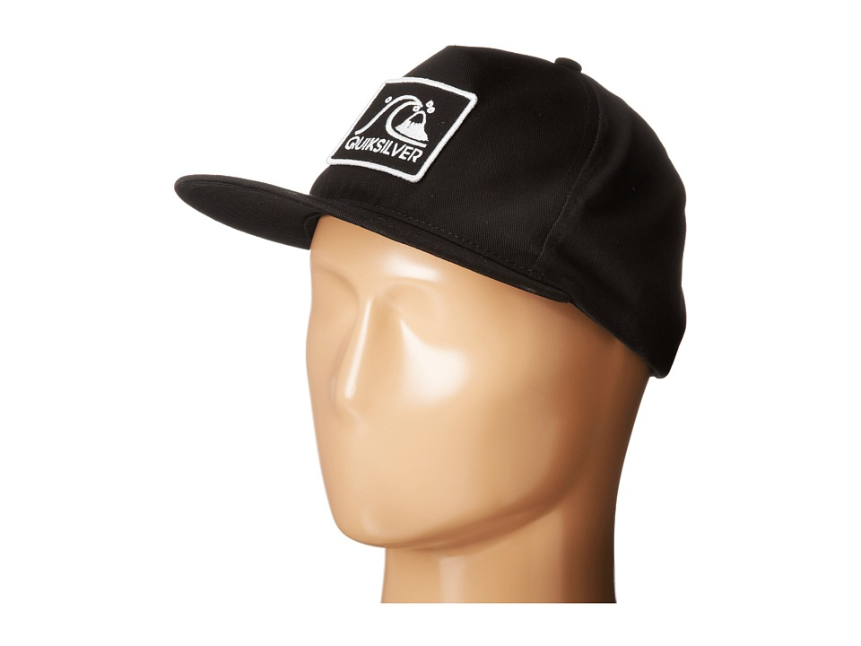 Quiksilver - Graf Trucker Hat (Black) Caps