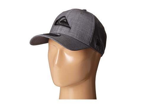 Quiksilver - Amphibian Texture Stretch Fit Hat (Castlerock) Caps