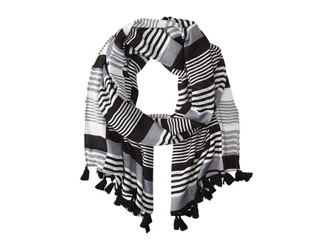 Vera Bradley - Embellished Scarf (Midnight Stripe) Scarves