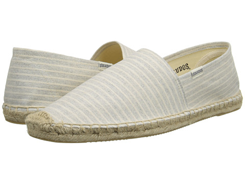 Soludos - Original Classic Stripes (Natural Runners Stripe) Men's Slip on Shoes