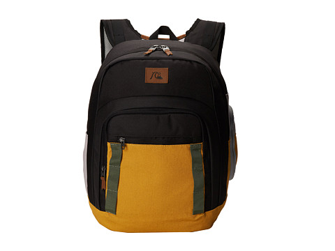 Quiksilver - Schoolie Modern Original Backpack (Golden Spice) Backpack Bags