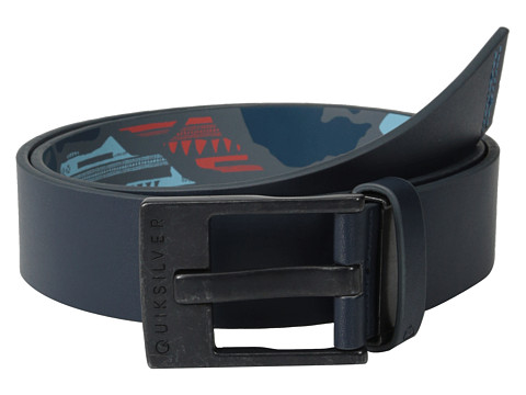 Quiksilver - Reverse Revo Belt (Dark Denim) Men's Belts