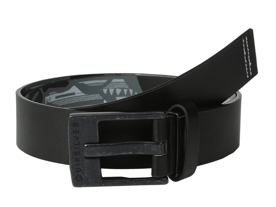 Quiksilver - Reverse Revo Belt (Dark Shadow) Men's Belts