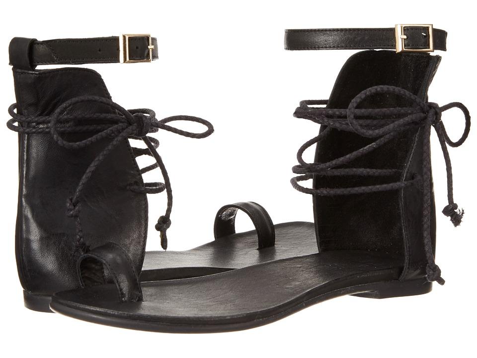 Miz Mooz - Nile (Black) Women's Sandals