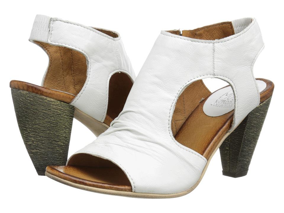 Miz Mooz Michelle (White) High Heels