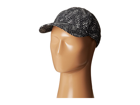 Hat Attack - Pattern Baseball Cap (Black Graphic) Baseball Caps