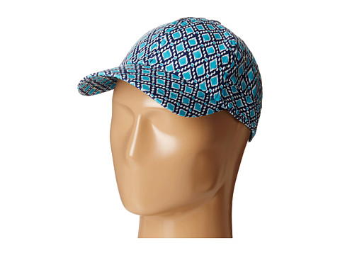 Hat Attack - Pattern Baseball Cap (Turquoise Diamond) Baseball Caps